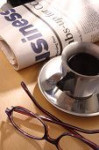 Coffee,Newspaper