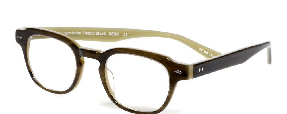 bench eye bobs cheaters reading glasses
