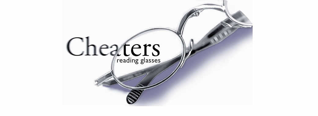 High quality reading glasses from Cheaters reading glasses